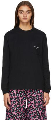 Comme des Garçons Homme Plus Black Logo Long Sleeve T-Shirt