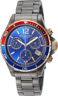 Oceanaut Men's Baltica Limited Edition Quartz Watch with Stainless Steel Strap Gray 20 (Model: OC0533)
