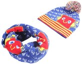Happy Cherry Baby Girls Winter Cap and Neck Scarves Robot 2T-4T