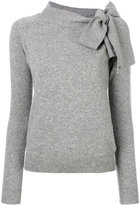 Ermanno Scervino bow embroidered knitted top - women - Cashmere/Virgin Wool - 40
