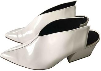 Tibi White Patent leather Sandals