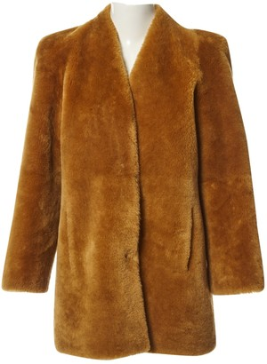 Chloé Brown Fur Coat for Women
