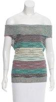 Missoni Sleeveless Turtleneck Sweater