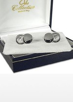 A-Z Collection Silver Plated Cuff Links