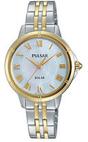 Pulsar Women's Two-Tone Watch w/ Mother-of-Pearl Dial