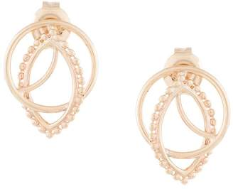 Aster Natalie Marie 9kt yellow gold studs