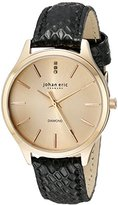 Johan Eric Women's JE2200-09-016.7 Herlev Analog Display Quartz Black Watch