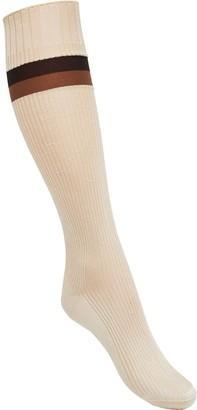 Fendi jacquard Pequin striped socks