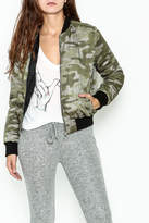 Others Follow Camo Bomber Jacket