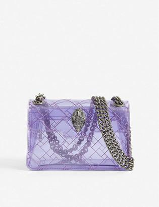Kurt Geiger Mini Kensington transparent shoulder bag