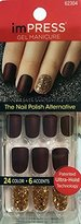 """Broadway KISS 2x Longer Lasting imPRESS """"BOOGIE DOWN"""" Matte Color by Press-On Manicure Nails"""