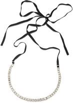 """ABS by Allen Schwartz Ribbon Tie Necklace, 60"""""""