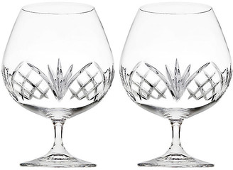 One Kings Lane Set of 2 Dublin Reserve Brandy Snifters - Clear