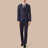 Burberry Slim Fit Wool Travel Tailoring Suit