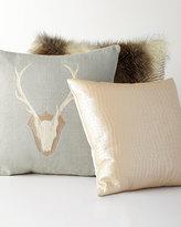Horchow Forester Deer Pillow