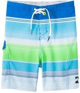 Billabong Toddler Boys' All Day X Stripe Boardshort (2T7) - 8145019