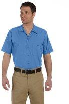 Dickies Men's Short-Sleeve Industrial Poplin Work Shirt