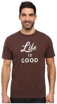 Life is Good Script Crusher Tee