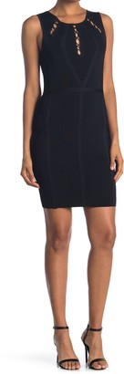 GUESS Bandage Dress With Upper Detailing