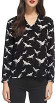 Whistles Tia Crane Print Top
