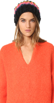 Free People Over The Rainbow Beanie Hat