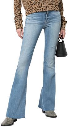Frame Le High Flare Raw Edge Jean