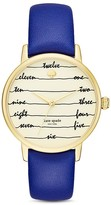 Kate Spade Chalkboard Metro Watch, 34mm