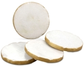 Thirstystone 4-Pc. White Marble Round Coaster Set