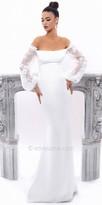 Tarik Ediz Candel Evening Dress