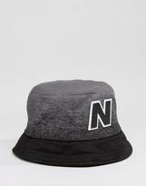 New Balance Graduated Bucket Hat In Grey