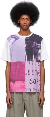 Paul Smith SSENSE Exclusive White Pauls Photo Ocean T-Shirt