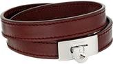Salvatore Ferragamo Leather Wrap Bracelet Bracelet