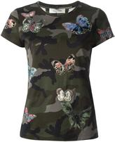 Valentino butterfly embroidered T-shirt