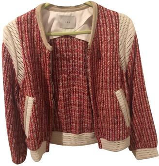 IRO Red Tweed Jackets