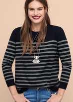 Violeta BY MANGO Striped Cotton Sweater