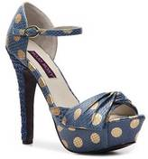 Dotty Platform Sandal