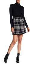 Anna Sui Tartan Scalloped Hem Miniskirt
