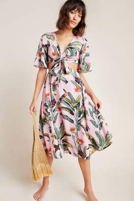 PatBO Tropical Cover-Up Dress