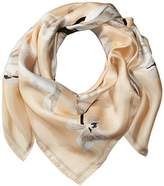 Vince Camuto Women's Flying Petals Square Scarf