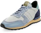 Valentino Men's Rockrunner Mesh Trainer Sneaker
