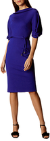 Karen Millen Tassel Waist Pencil Dress, Blue