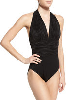 Magicsuit Yves in the Fold Halter One-Piece Swimsuit