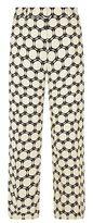 Max Mara Geometric Wide Cropped Trousers