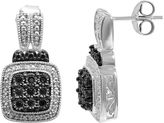 Black Diamond FINE JEWELRY 1/5 CT. T.W. White & Color-Enhanced Earrings