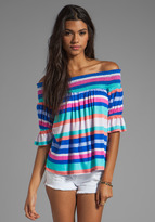 VOOM by Joy Han Laney Off the Shoulder Top