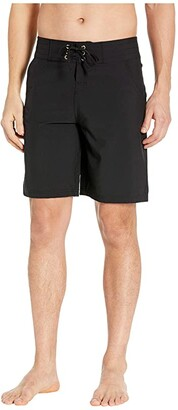 La Blanca 9 All Aboard Boardshorts (Black) Women's Swimwear