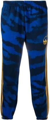 adidas Tiger Print Track Pants