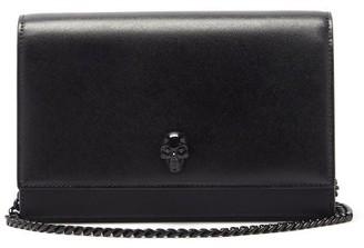 Alexander McQueen Skull Leather Cross-body Bag - Black
