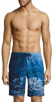 Surfside Supply Co. Novelty Coral Reef Printed Shorts