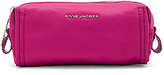 Marc Jacobs Easy Skinny Cosmetic Bag in Fuchsia.
